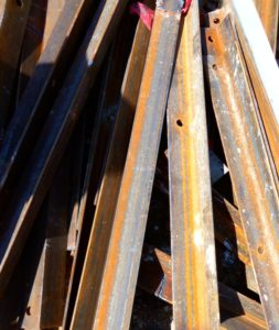 Scrap metal sellers Austin: Angle Iron