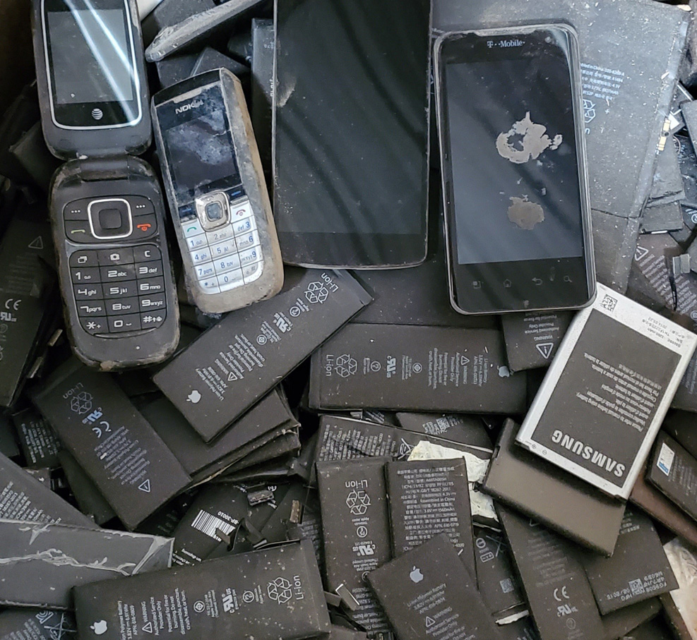 Battery recycling Austin phones